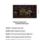 """Owed to a Greasy Earn"" A Readers Theater Script [Theatre"