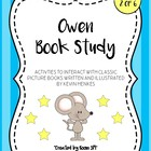 Owen Book Study (Center Game, Activities, Writing Prompts,