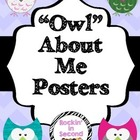 """Owl"" About Me Posters"