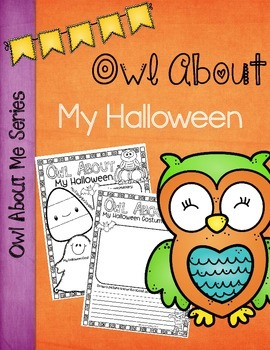 """Owl"" About My Halloween Poster"