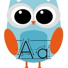 Owl Alphabet Cards