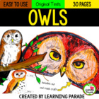 Owl Babies Story Unit (CCSS Activities)