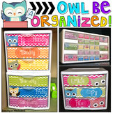 Owl Be Organized { Owl Themed Teacher Toolbox and more! }
