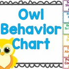 Owl Behavior Chart