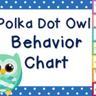 Owl Behavior Chart 2