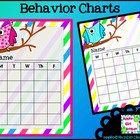 Owl Behavior Charts