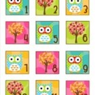 Owl Calendar Numbers Classroom Decor