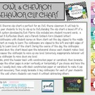 Owl & Chevron Behavior Clip Chart -Updated