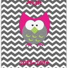 Owl &amp; Chevron Music Educator Binder II