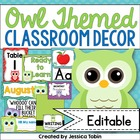 Owl Classroom Decor Pack