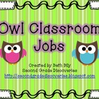 Owl Classroom Jobs
