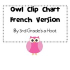 Owl Clip Chart-French Version