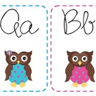 Owl Cursive Alphabet