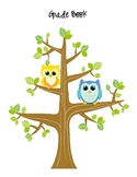 Owl Grade Book and sheets