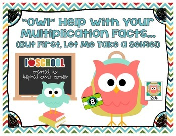 "festivefriday ""Owl"" Help with Your Multiplication Facts"