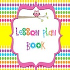 Owl Lesson Plan Book