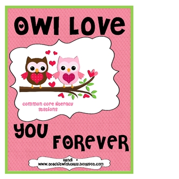 Owl Love You Forever Literacy