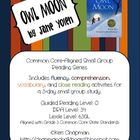 Owl Moon Small Group Reading