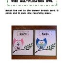 Owl Multiplication Center Activity