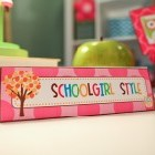 Owl Nameplate Classroom Decor