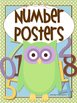 Owl Number Posters