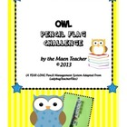 Owl Pencil Supply Classroom Management System Reward Back