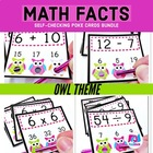 Owl Poke MATH FACTS Pack
