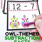 Owl Poke Subtraction Facts 1-9