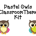 Owl &amp; Polka Dot Classroom Theme Kit