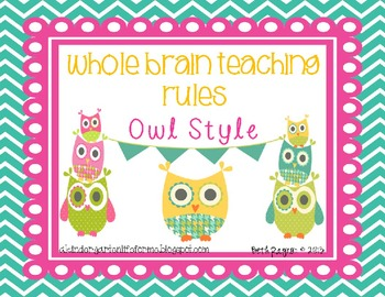 http://www.teacherspayteachers.com/Product/Owl-Style-Whole-Brain-Teaching-Rules-792959