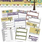 Owl Themed 2013-2014 Personal Planning Calendar