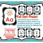 "Owl Themed Alphabet ""Owl-phabet"""
