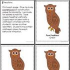 Owl Themed Behavior Clip Chart AND Take Home Chart