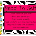 Owl-Themed Literacy Station SET/14 Posters! Header and Ins