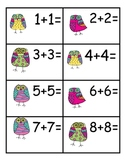 Owl Themed Math: Doubles Addition