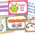 Owl Themed Postcards