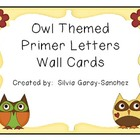 Owl Themed Primer Wall Cards