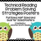 Owl Themed Problem Solving Strategy Posters