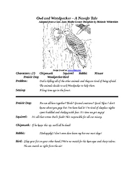 Owl & Woodpecker - A Navajo Tale Group Reader's Theater