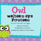 Owl Writer&#039;s Eye Posters