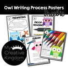 Owl Writing Process Posters