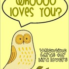 Owl and Bird Valentines