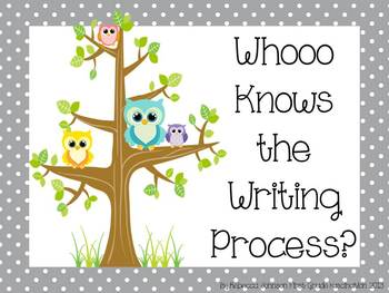 Owl and Polka Dot Writing Process