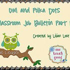 Owl and Polka Dots Job Bulletin Board Set Part II