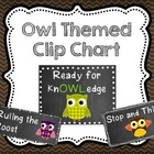 Owl-dorable Behavior Clip Chart