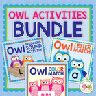Owls: Activities for Preschool and Early Childhood Themes