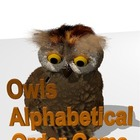 Owl&#039;s Alphabetical Order Game