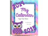 Owls Editable Calendar and Planner {The Ultimate Organizat