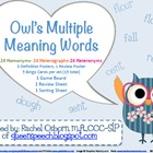 Owl's Multiple Meaning Words