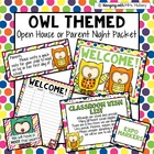 Owls & Polka Dots Open House Documents (Editable)